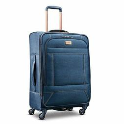American Tourister Belle Voyage Softside Checked Large 28 In