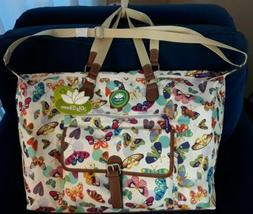 LILY BLOOM LARGE BUTTERFLY TWISTER FIONA WEEKENDER TRAVEL BA