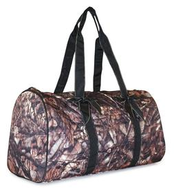 Camo Large Quilted Duffle Bag Duffel Travel Luggage Womens G