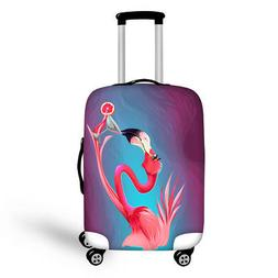 Cute Animal Travel Luggage Protector Suitcase Cover Large Si
