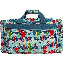 DUFFEL BAG ~ SEAHORSE ~ for Gym Airline Carryon Overnight  B
