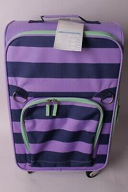 Pottery Barn Kids Fairfax large rolling spinner luggage suit