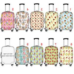 Ice Cream Luggage Cover Travel Suitcase Antiscratch Protecto