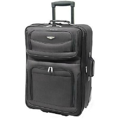 amsterdam 29 in large luggage suitcase expandable