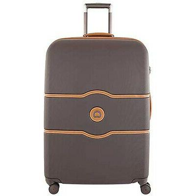 delsey luggage chatelet hard large checked luggage