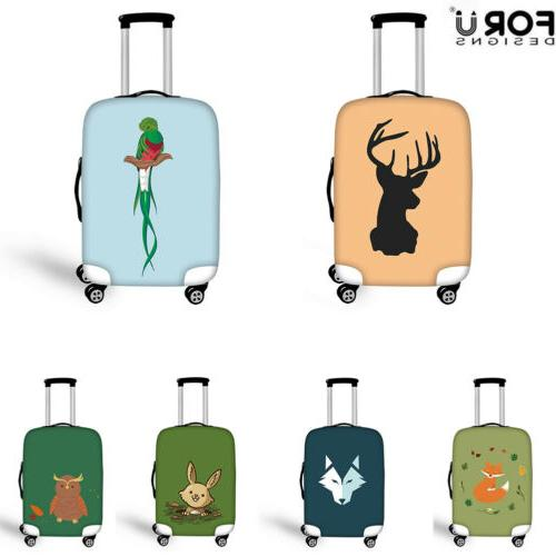 elastic luggage suitcase cover dust proof trunk