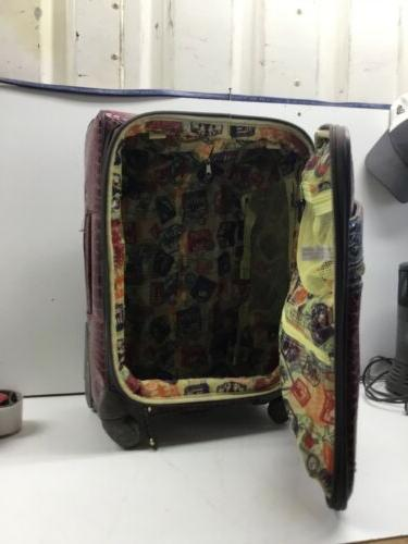 Samantha Brown Small Suitcases. Red Skin