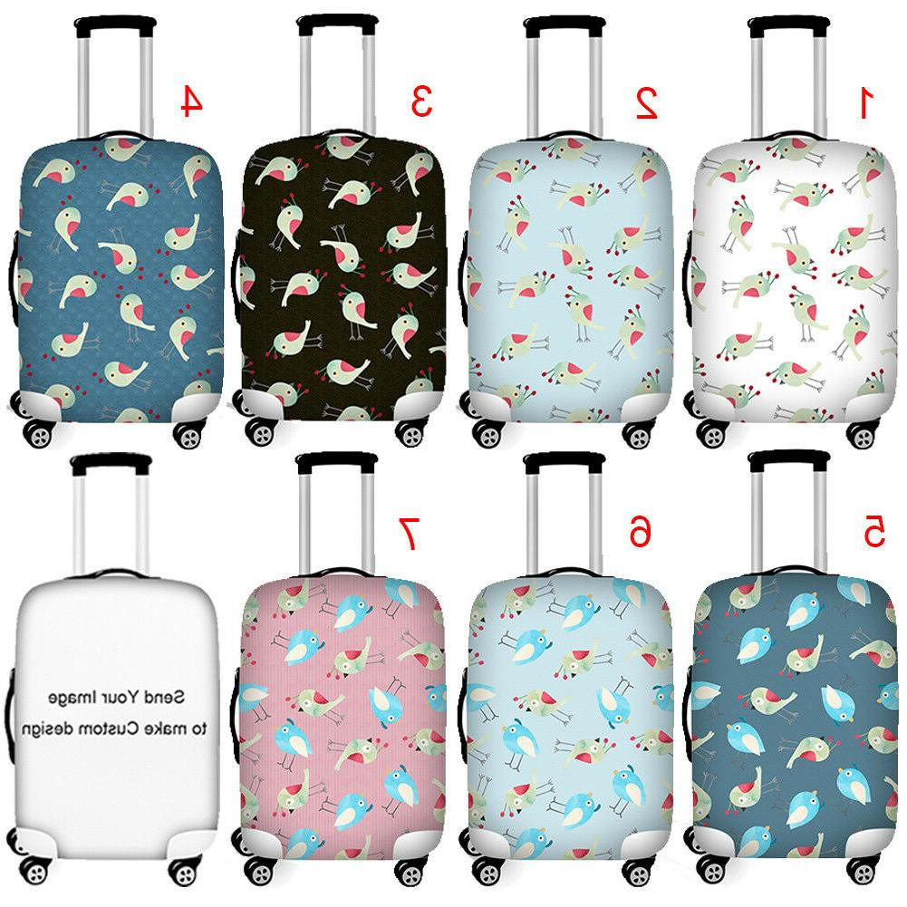 thick elastic travel luggage cover suitcase protector