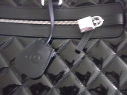 Chanel large calfskin patent leather suitcase/travelcase