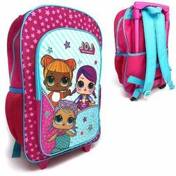 LOL SUPRISE LARGE CHILDREN'S LUGGAGE TROLLEY  BACKPACK  SUIT
