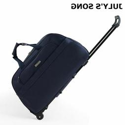 Luggage Trolley Travel Bag Thick Rolling Suitcase With Wheel