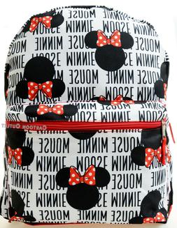minnie mouse ears large black and white