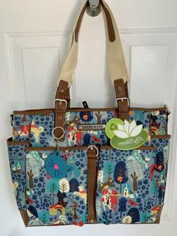NWT Lily Bloom Maya WHO LET THE DOGS OUT Travel Tote Diaper