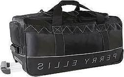 "Perry Ellis Men's Extra Large 35"" Rolling Duffel Bag-A335, B"