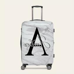 Personalised Initial Name 2 Suitcase Luggage Sticker 20 colo