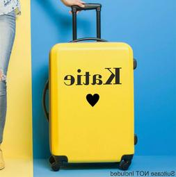Suitcase STICKER Name Personalised HB London Style Decal Lug