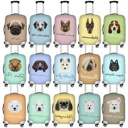 Thick Elastic Luggage Cover Travel Animal Suitcase Protector