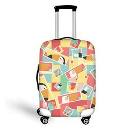 Travel Luggage Cover Elastic Suitcase Cover Dust-proof Case