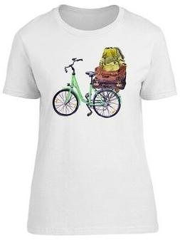 Vintage Bicycle With Suitcases Women's Tee -Image by Shutter