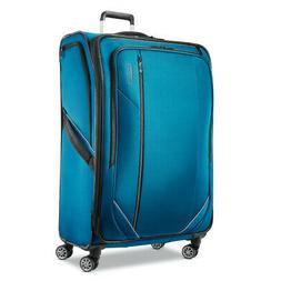 "American Tourister Zoom Turbo 28"" Checked-Large Spinner, Tea"